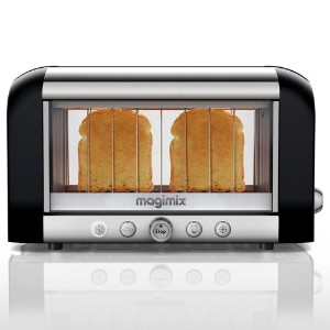 Magimix Colored Vision Toaster: Black by MagiMix