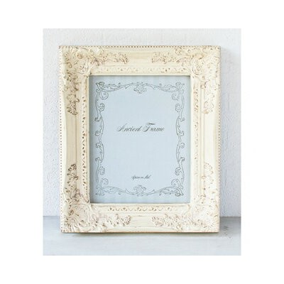 SPICE ANCIENT アンティークスタイルピクチャーフレーム アイボリー Sサイズ ANCIENT PICTURE FRAME S IV SQM820SIV □【CL6】額縁 アンティーク...