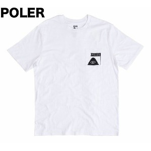 Poler Summit Pocket T-Shirt White S Tシャツ 送料無料