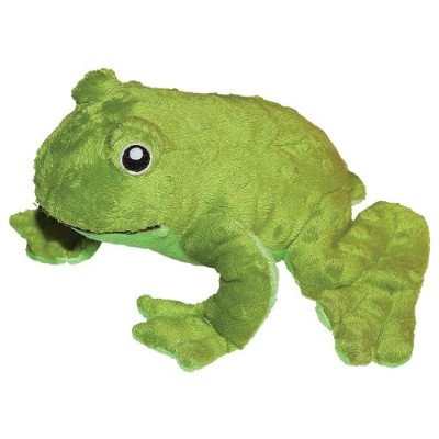 Patchwork Pet Pond Hoppers Frog 14-Inch Squeak Toy for Dogs by Patchwork Pet