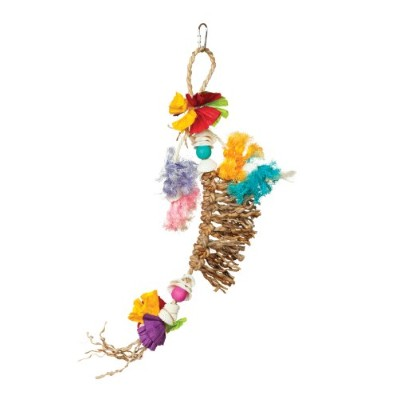 Prevue Hendryx 62508 Tropical Teasers Knots of Fun Bird Toy by Prevue Hendryx
