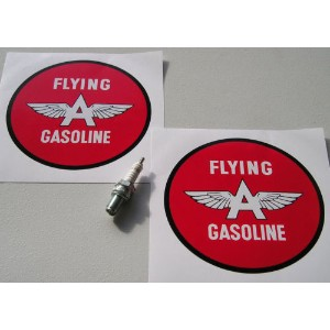 Flying A Gasoline★バイク&カーステッカー,シール