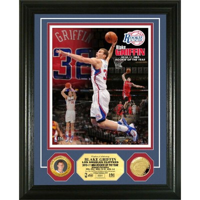 The Highland Mint (ハイランドミント) ブレイク・グリフィン 新人王記念フォトプラーク Blake Griffin 2010-11 NBA Rookie of the Year...