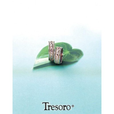 【送料込み】結婚指輪**MARRIGE RING☆Tresoro**Arabesque**99G52*k18WG/k18 【RCP】【楽ギフ_包装】