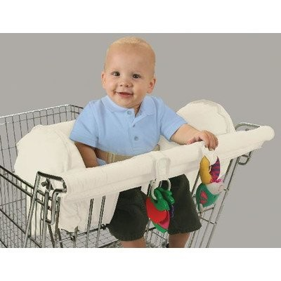 Leachco Smart Prop 'R Shopper Body Fit Shopping Cart Cover (Ivory) by Leachco