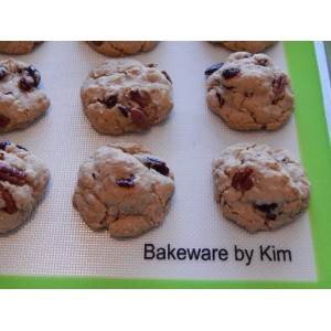 Bakeware by Kim、クリーン、グリーン商用グレードシリコンBaking Mat ,セットof 2。Lifetime保証~無料Baker 's Dozen Cookie eBookダウンロー...