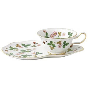 Wedgwood Wild Strawberry Hostessセット、グリーン