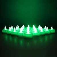 TBW 12-battery-powered Flameless LEDちらつきFrosted Tealight Candles Battery Powered、電気ティーライトは安全...