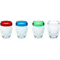 Tervis 9オンス4-pc。StemlessワインガラスセットTervis Oneサイズ