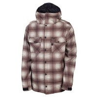 686 PLEXUS FORECAST SOFTSHELL ジャケット TOBACCO OMBRE PLAID 【12-13 スノーボード ウェア】715005