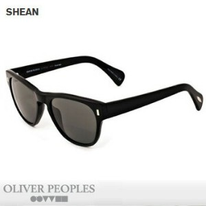 OLIVER PEOPLES SHEAN 偏光レンズ サングラス  BLACK WITH MIDNIGHT EXPRESS POLAR GLASS 【オリバーピープルズ POLARIZED...