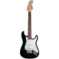 Squier by Fender スクワイア ミニエレキギター Mini Stratocaster Black