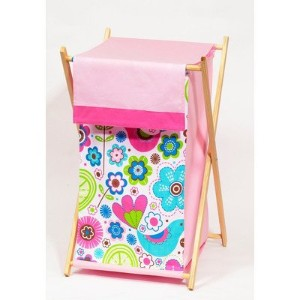 Bacati - Botanical Sanctuary Multicolor Pink Hamper by Bacati