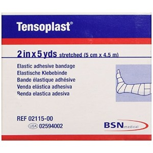 Tensoplast First Aid Tape, White by Tensoplast
