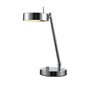 Z-Lite TL201-CH 1-Light Table Lamp, Chrome Shade by Z-Lite