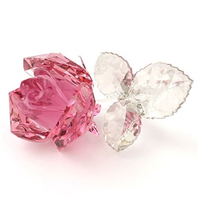 [SWAROVSKI] Blossoming Rose, Light Rose 5094612 [並行輸入品]