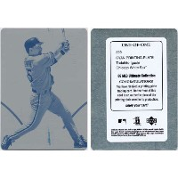 【1 of 1】井口資仁 2006 Upper Deck MLB Ultimate Collection Cyan Printing Plate Card