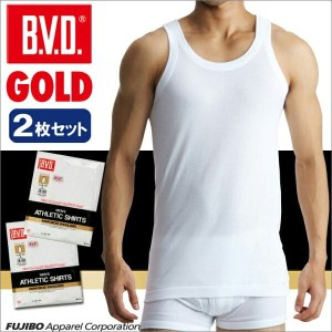 B.V.D.GOLD 2枚セット ランニング(3L)【BVD直営】/ギフト/メンズ 【コンビニ受取対応商品】