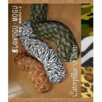 "【Wild Style】 ""Caterpillar Pillow"" 25Rx125cm 伸縮素材+中身は極小直径約0,5mmのマイクロビーズ!【 抱き枕 抱きまくら パンサー 豹柄 迷彩柄 アーミー..."