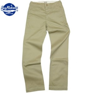 BUZZ RICKSON'S(バズリクソン)Original Spec. Chinos Khaki