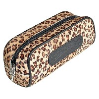 CHROME HEARTS CHEETAH LEATHER POUCH クロムハーツ レザーケース CHEETAH