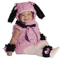 Pink Poodle Infant / Toddler Costume ピンクのプードルの赤ちゃん/幼児コスチューム サイズ:18 Months/2T