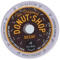 Coffee People Donut Shop Decaf Medium Roast Extra bold, 22-Count K-Cup Portion Pack for Keurig...