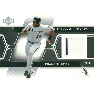 フランク・トーマス MLBカード Frank Thomas 2005 Upper Deck Game Jersey