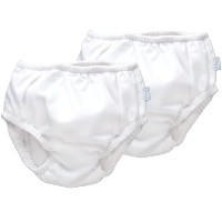 iPlay Ultimate Swim Diaper - White, (6 Months) by i play.