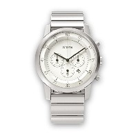 [wena project] wena wrist Chronograph White WN-WC01W