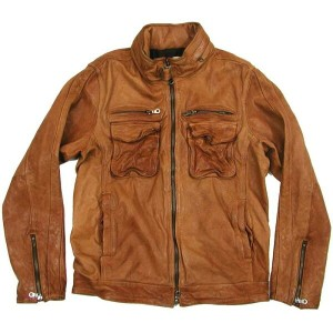 Rhyme(ライム) RH-7046 Leather Zip Jacket