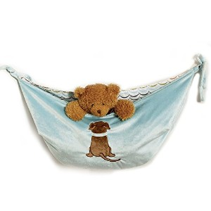 One Grace Place Puppy Pal Boy Toy Bag, Powder Blue, Sage Green, Chocolate Brown, Orange, White by...