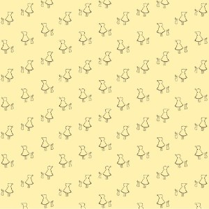 WallCandy Arts Removable Wallpaper, Bunny Up Buff, Full Kit by WallCandy Arts