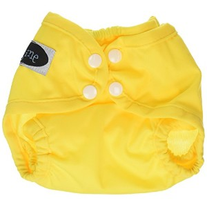 Imagine Baby Products Newborn Snap Diaper Cover, Marigold by Imagine Baby Products