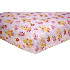 Disney Nala's Jungle Fitted Sheet by Disney