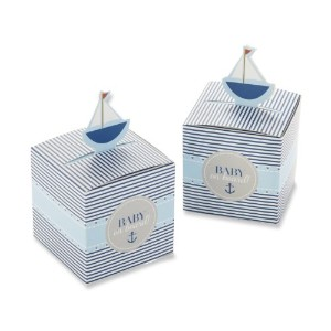 Baby on Board! Pop-Up Sailboat Favor Box (Set of 24)