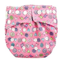 Bumkins Snap-in-One Cloth Diaper, Love Birds by Bumkins
