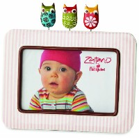 Zutano Striped Frame, Owl by Nat and Jules