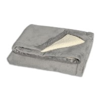 JJ Cole BundleMe Throw Blanket, Graphite by JJ Cole