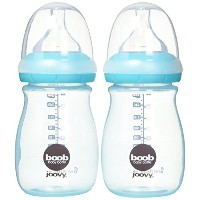 Joovy Boob Pp Baby Bottle, Turquoise, 9 Ounce, 2 Count by Joovy