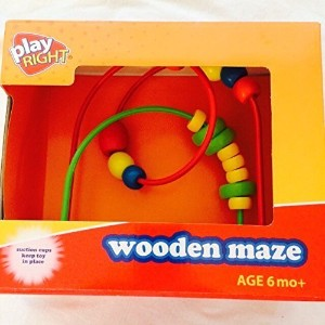 Play Right木製Maze by walgreens