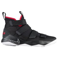(取寄)ナイキ メンズ レブロン ソルジャー 11 Nike Men's LeBron Soldier 11 Black White University Red