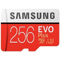 Samsung 256 GB EVO Plusクラス10 UHS - I MicroSDXC u3 withアダプタ( mb-mc256ga / EU ) Read : Up to 100 MB ...