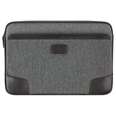 TUMI コーティング キャンバス タブレット カバー (グレー/ブラウン) for Surface Book/Surface Laptop