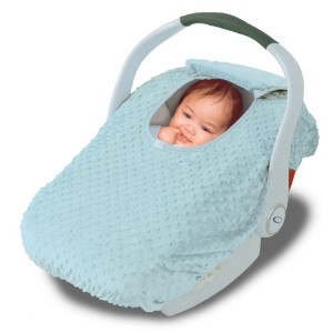 Car Seat Cover - Cover For Your Baby In Their Car Seat - Aqua by Jolly Jumper