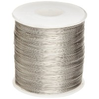 Nickel Chomium Resistance Wire, Chromel-A, Bright, 24 AWG, 0.02 Diameter, 793' Length (Pack of 1)...