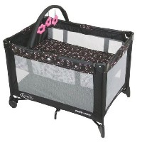 Graco Pack 'N Play with Automatic Folding Feet Playard, Priscilla by Graco [並行輸入品]