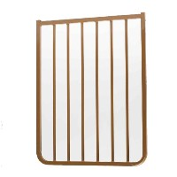Cardinal Gates Extension for Outdoor Child Safety Gate, Brown, 21.5 by Cardinal Gates