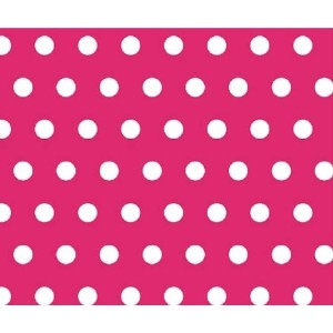 SheetWorld C-SET-W917 C-SET-W917 Crib / Toddler Sheet - Polka Dots Hot Pink - Made In USA by...