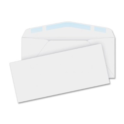 Laser & Inkjet Envelope, Traditional, #10, White, 100/Box (並行輸入品)
